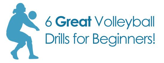 6 Volleyball Drills for Beginners