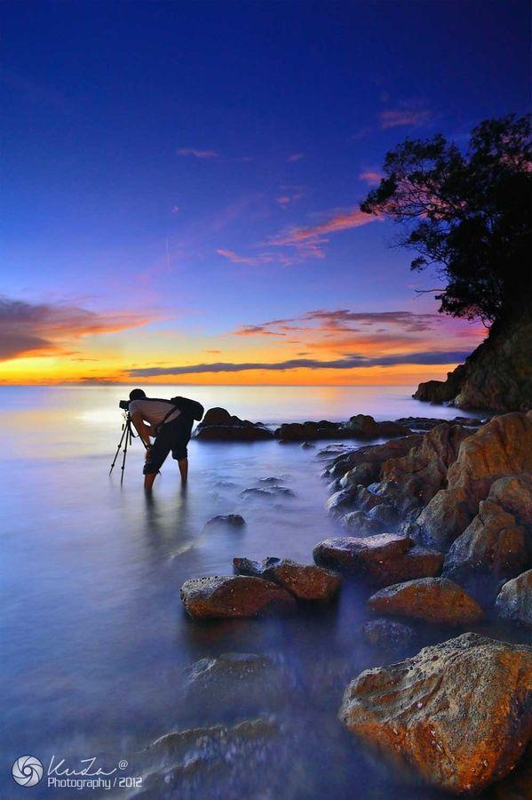 Hunter Sunset by Ku Za on 500px