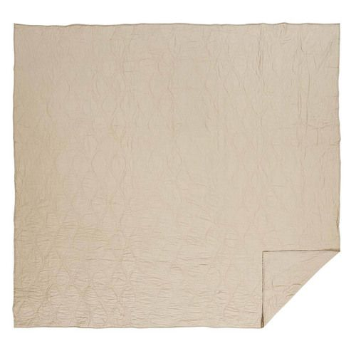 Harbour Sand King Quilt 95x105