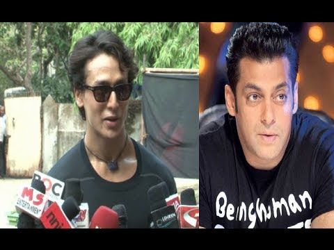 CHECKOUT what Tiger Shroff said about Dabangg Salman Khan.