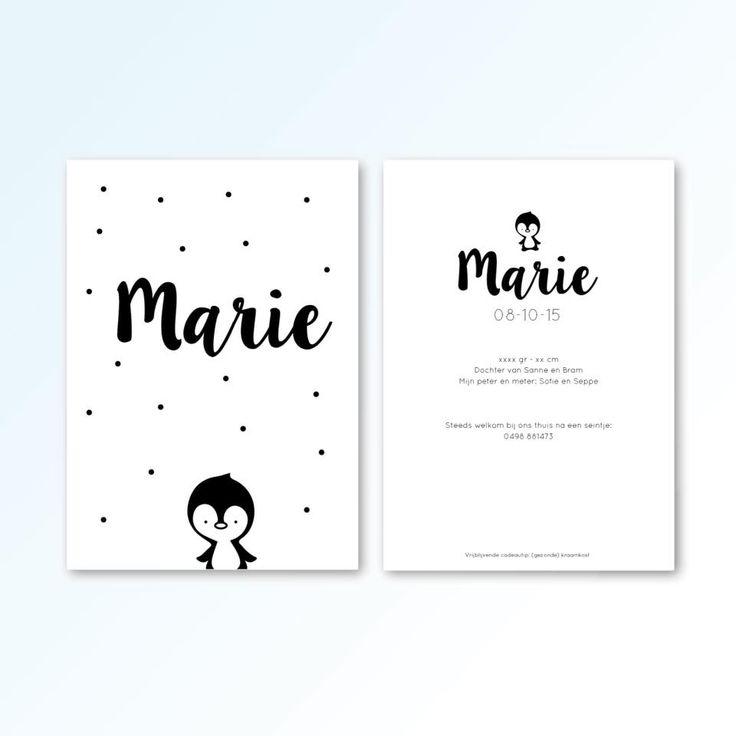 #birthcard #birth #cards #pinguin #marie #newborn #graphicdesign #2blush…
