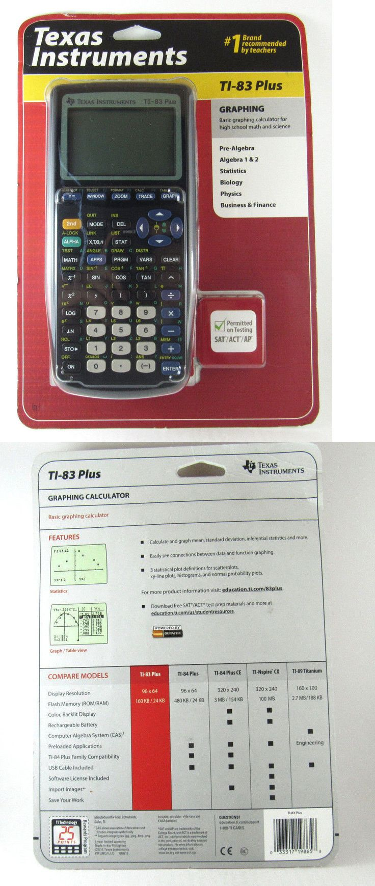 best ideas about calculatrice ti calculette calculators texas instruments ti 83 plus graphing calculator brand new in sealed packaging