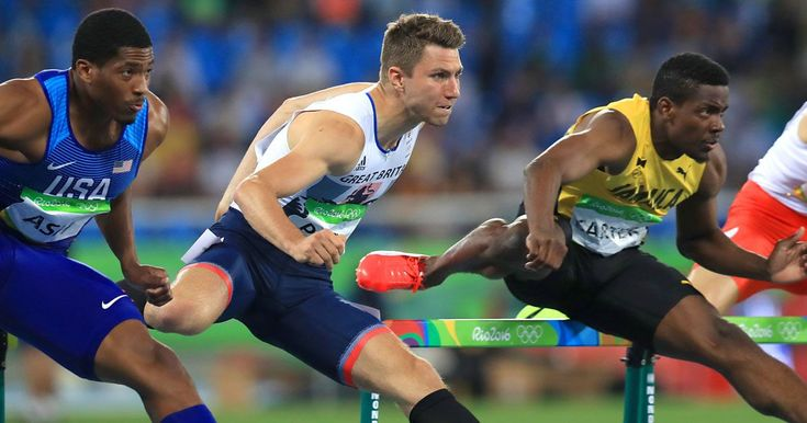 "Team GB's European Indoor Championships star Andy Pozzi insists athletics' drug scandals are a GOOD thing ""I read these stories with a wry smile — that that's another cheat unable to defraud the rest of us"" says hurdler who races for gold on Friday"