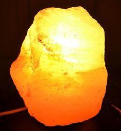 Lampade di sale: usi e benefici