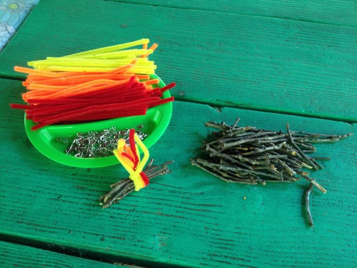 Easy camp fire SWAPS for Girl Scouts