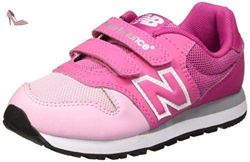 New Balance NBKV500PKP, Chaussures de Marche pour Bébé Bébes, Rosa (Pink), 29 EU - Chaussures new balance (*Partner-Link)
