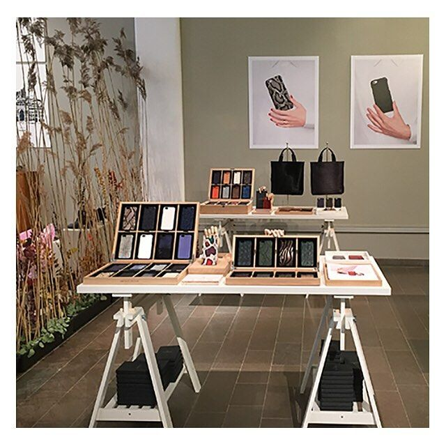 Finally it is #fashionweekstockholm! Thanks to everyone who came by and said hi at #auktionsverket today! #thecasefactory #tcfstockholm #ss16