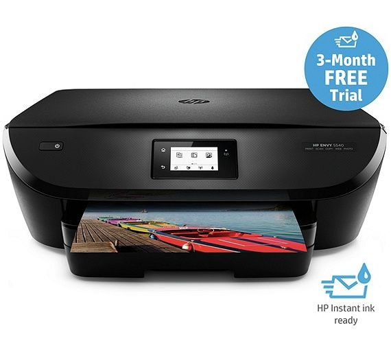 Buy HP Envy 5540 All-in-One WiFi Printer - Instant Ink Ready at Argos.co.uk - Your Online Shop for Printers, Home office, Technology.
