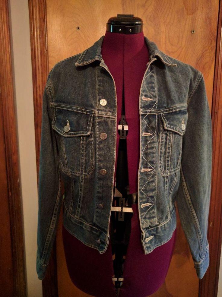 Joe's Industrial Denim Women's Jean Jacket Size Small Garage Wash Sandblast #Joes #JeanJacket #Casual