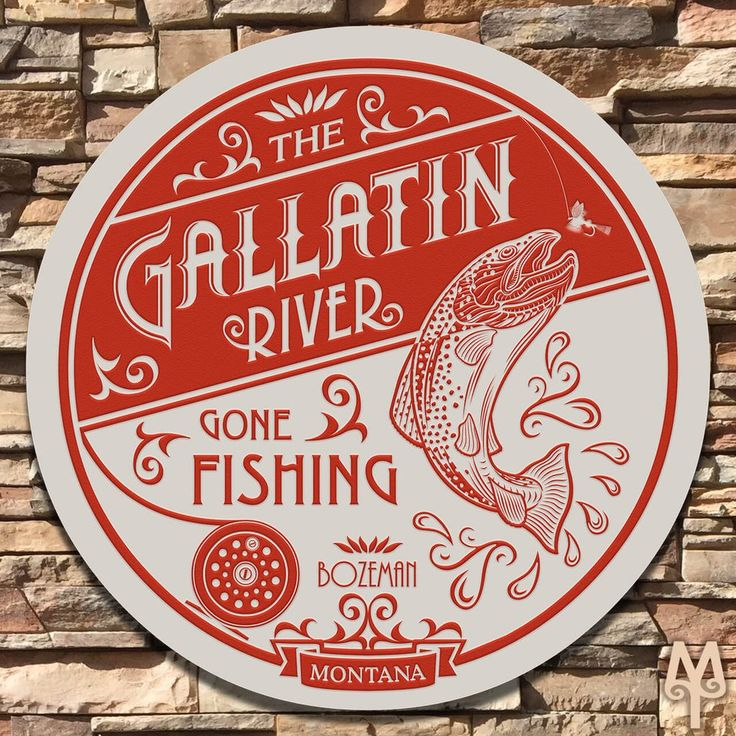 Gallatin River Sign