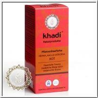 Khadi Pflanzenhaarfarbe Henna, Amla & Jatropha
