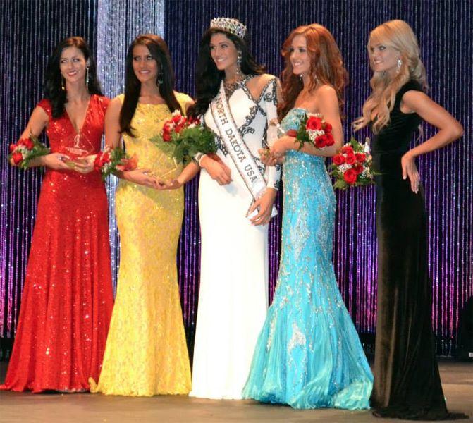 Audra Mari Crowned Miss North Dakota USA 2014