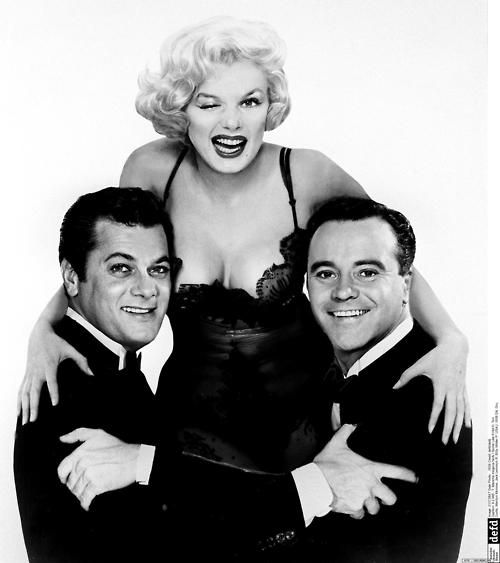 Tony Curtis, Marilyn Monroe, Jack Lemon