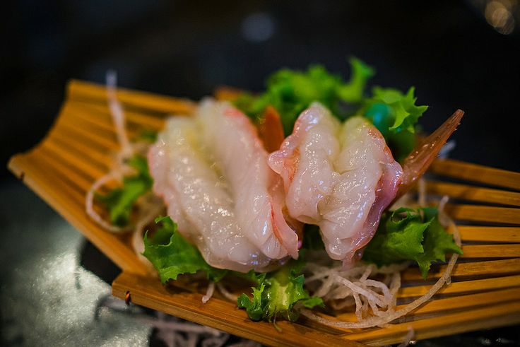 Sweet shrimp, Restaurant Tora, Gahanna OH