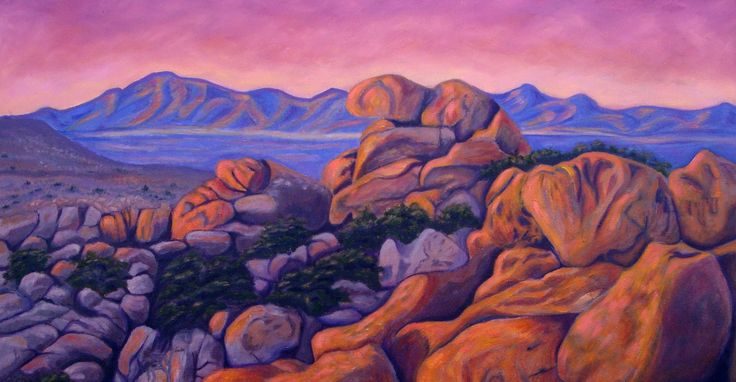 Sonoran Sunset  24 x 36  oil  available
