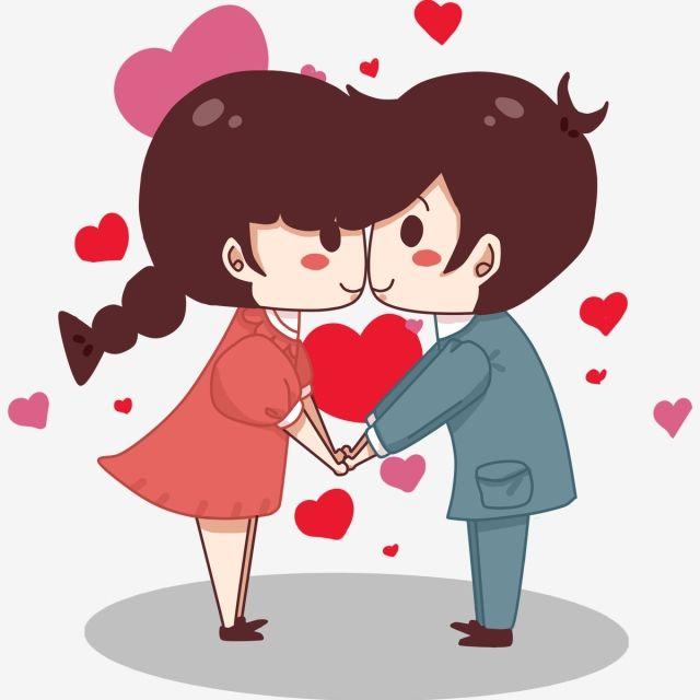 Dia Dos Namorados Desenho Casal Png E Psd Valentines Day Cartoons Valentines Anime Couple Cartoon