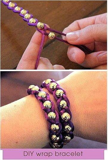 Braid in beads for your very own DYI bracelets