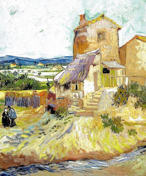 Vincent van Gogh - The old mill (1888)