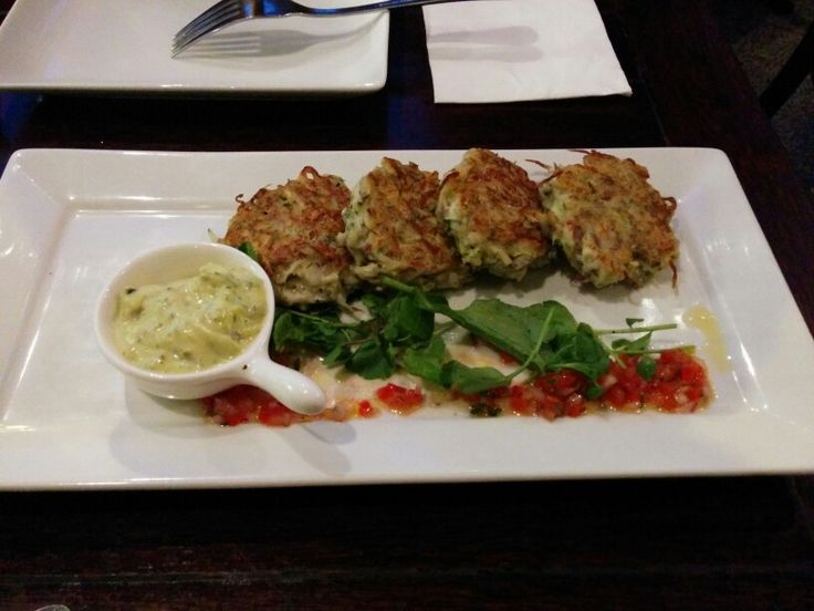 The Spanish Fly - NZ whitebait fritters w/ watercress and housemade tartare A: 2 B: 2.5