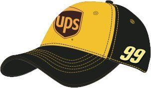 Carl Edwards CFS NASCAR Spring 2012 UPS Fan Hat by RacingGifts. $26.50. These premium quality nascar hats are made from the finest materials, with sturdy construction that will last for years to come. The impressive graphics are second to none too. Whether you're buying one for yourself or as a gift, one of these hats will become a favorite in any racing fan's collection. Adjustable to fit most any size head, you can't go wrong with one of these hats featuring your ...