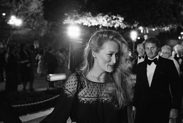 Meryl Streep at the Academy Awards, 1979, by Bettmann/Corbis