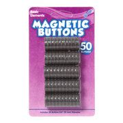 Kids Craft 50pk Magnetic Buttons