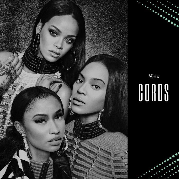Music's flawless holy trinity = Rihanna, Beyonce, & Nicki Minaj ~ NEW