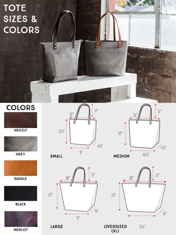 f89e0aee5f4e Leather Tote Bag HUGE SALE Tote with Zipper Tote with