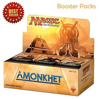 Amonkhet Booster Box Magic MTG Sealed Collectible Card Games Packs Free Shipping