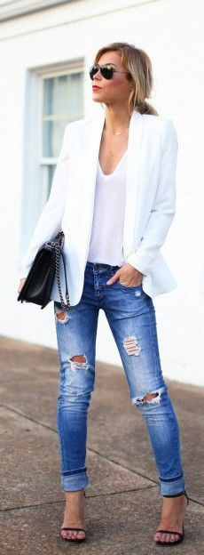 #Ripped #jeans