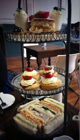 The Afternoon Tea Club: The Afternoon Tea Club Reviews: Leaf on Bold Stree...