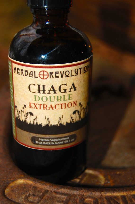 Chaga Double Extraction 4 oz  http://etsy.me/1i3jFtP