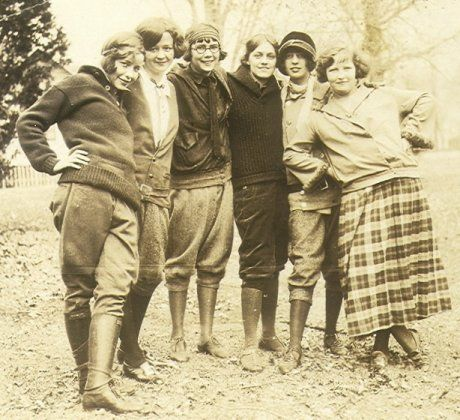 1920s hiking clothes camping clothes