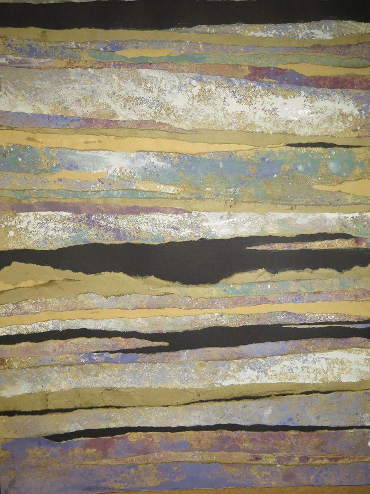 AQUARELLE collage  Raymond GUIBERT 2015