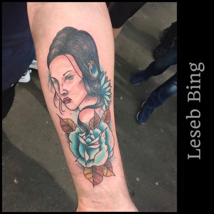 Tattoo realisé par Leseb Bing a la convention de Londres le week end dernier  Si vous aimez la couleur et le neo traditionel Leseb aimerait en faire plus souvent donc n'hésitez pas a nous contacter ;D