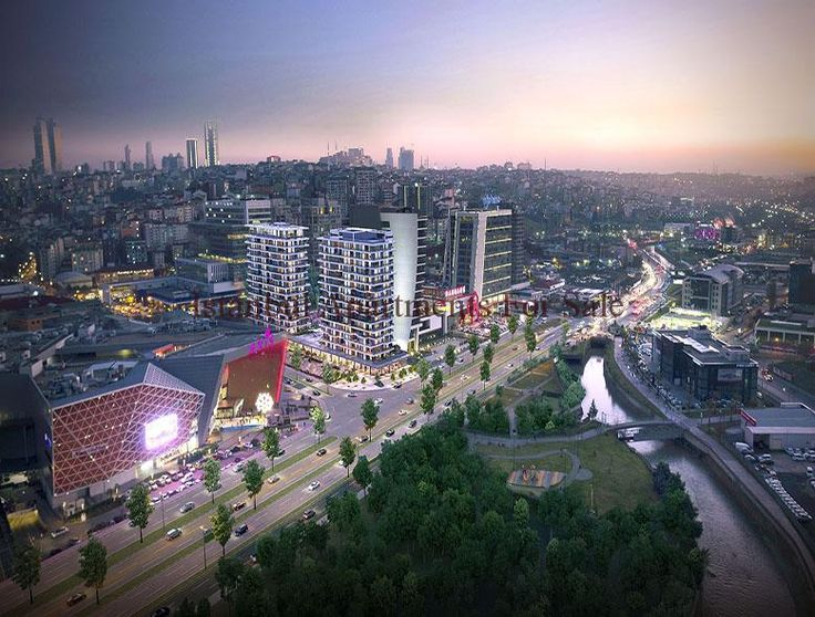 City centre apartments in Istanbul Kagithane next to shopping malls