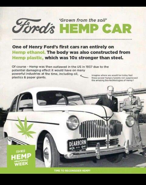 Ford Hemp Car Sledgehammer