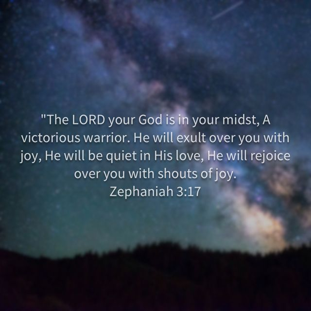 The Lord your God is in your midst.