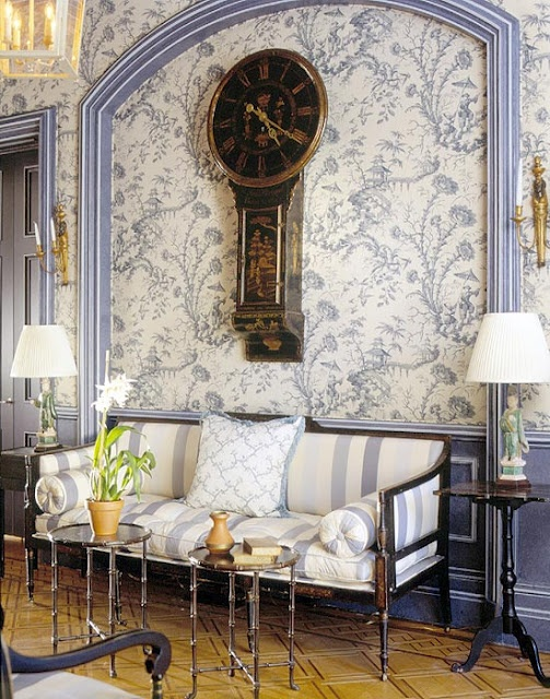 Better Homes And Gardens Antique Wallpaper Stripe : On textured wallpaper vintage and patterns