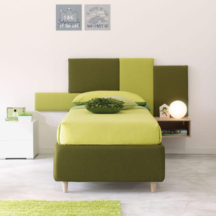 Oltre 25 fantastiche idee su letto a pannelli su pinterest mobili rustici di camera da letto - Camera da letto verde mela ...