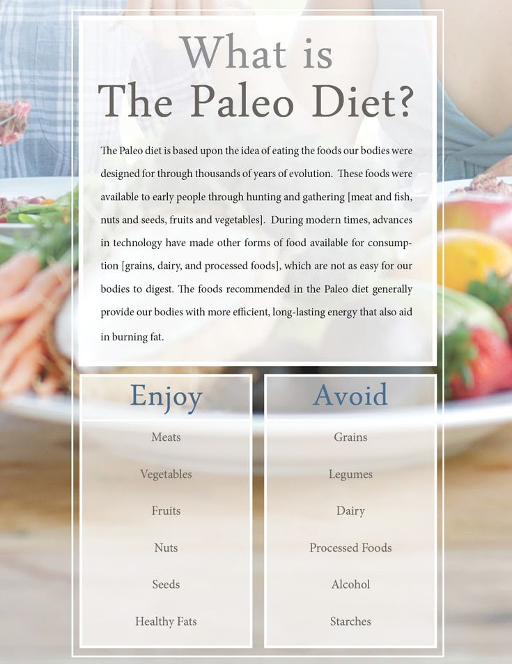 "Been seeing ""paleo"" all over, but this is the first description I've read that explains what it is. Not crazy about some of the recipes I've seen, but I like this concept..."