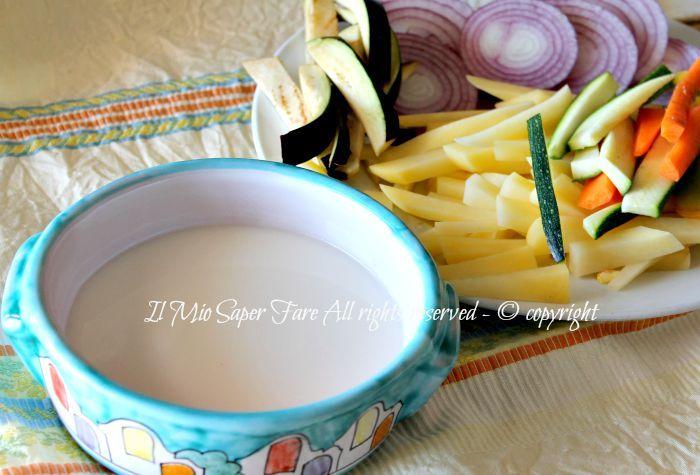 Pastella farina di riso croccante e leggera senza glutine il mio saper fare