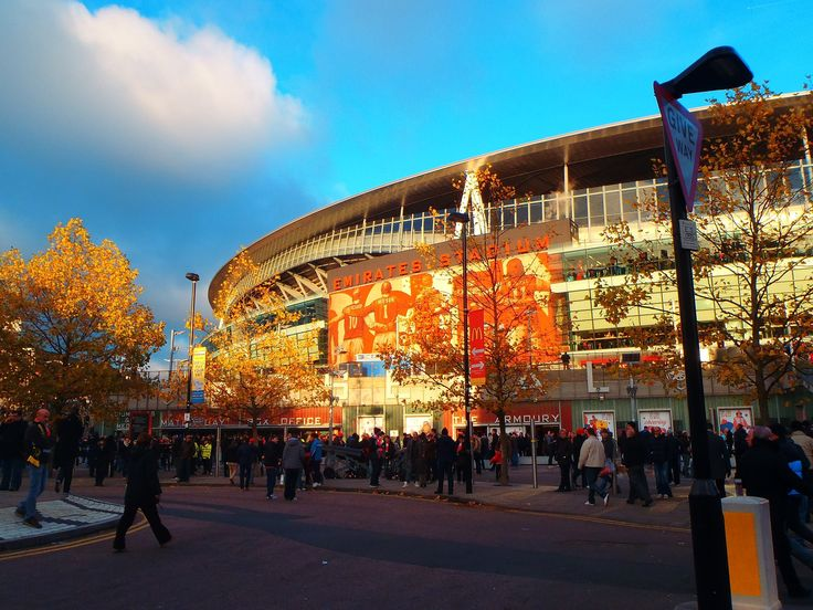 Catch a Gooner football match or just tour the amazing Emirates Stadium.  photo by Fiona Knight #LONDONCALLING