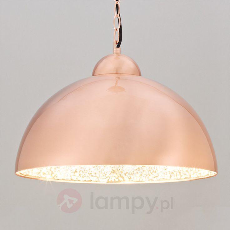Miedziana lampa wahadłowa LED FELIPPA 9620668