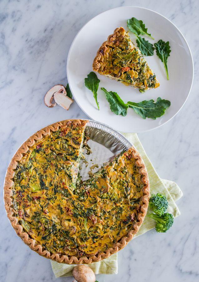 Vegan Quiche for Easter Brunch - Sweet Potato Soul by Jenné Claiborne