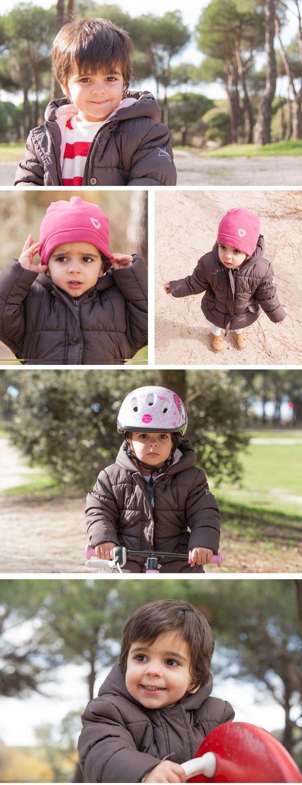 Paula en el parque