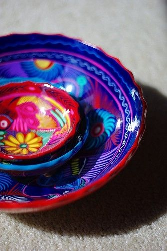 Mexican style pottery [ MexicanConnexionforTile.com ] #culture #Talavera #Mexican