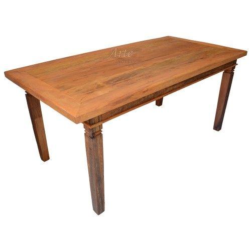 Mesa 1,80 x 0,90 Rústica em Peroba - 5309 #mesa #mesaparacozinha #mesarustica #rustico #cozinha #mesajantar