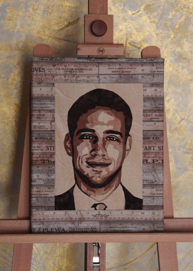 192 best Portrait Quilts images on Pinterest | Quilt art, Art ... : portrait quilts - Adamdwight.com