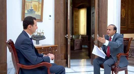 "President Al-Assad: ""You cannot talk about terrorism and Saud family as two entities…"" | #news #USA #Syria #Trump #SaudiArabia #Islam #Russia #Iran #Obama"